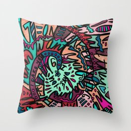 Take Everything I Dare You (Berry) Throw Pillow