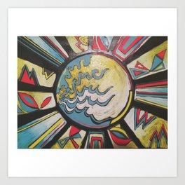 Sun Catcher Art Print