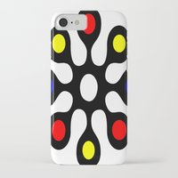 old school iPhone & iPod Cases featuring Old School by Nancy Smith
