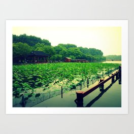 Westlake, Hangzhou Art Print