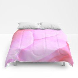 Flower | Flowers | Floral | Pink Rose Petals | Nadia Bonello Comforters