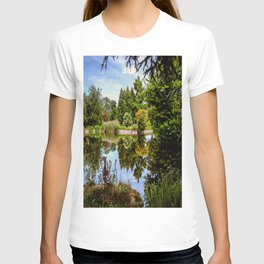 Lakeside reflections. T-shirt