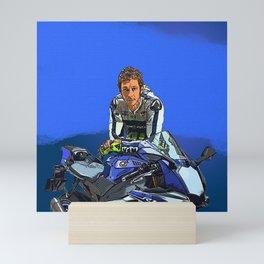Rossi Valentino Desain 002 Mini Art Print