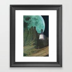 Månen (Luna) Framed Art Print