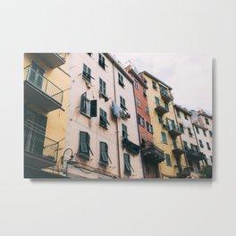 Windows and Balconies Metal Print