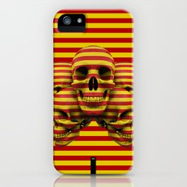 Skulls pop iPhone Case