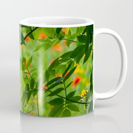 Through the Hedge. Coffee Mug