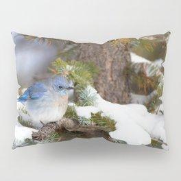 Watercolor Mountain Bluebird 2 Pillow Sham