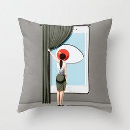 smart home Throw Pillow