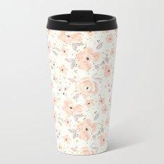 Blush Rosé Sparkle Metal Travel Mug