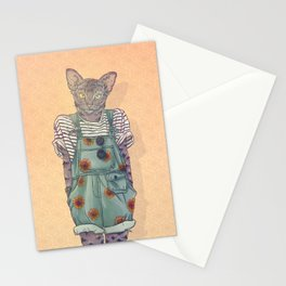 Daisy the Abyssinian Cat Stationery Cards