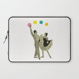 Throwing Shapes on the Dance Floor Laptop Sleeve