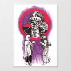 Ghost Dancing Canvas Print