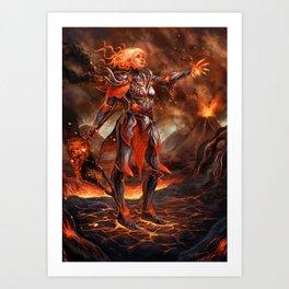-Fire- Art Print