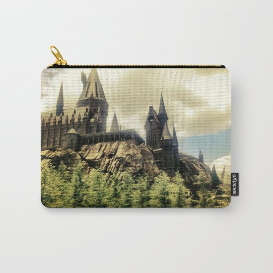 Hogwarts School of Witchcraft and Wizadry  Carry-All Pouch