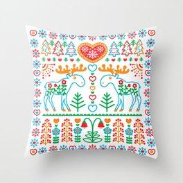 Amoosingly Simple Throw Pillow