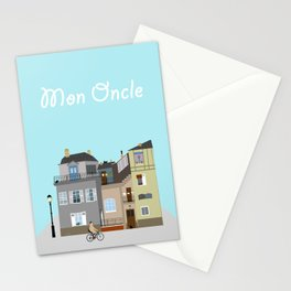 Mon Oncle Stationery Cards