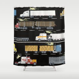 Hags of the Mist Shower Curtain