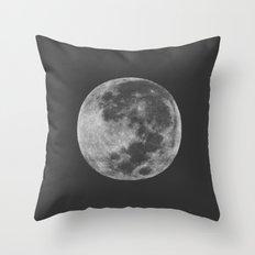 Midnight Moon Throw Pillow