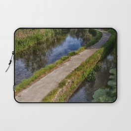 Causeway To The Chequers Laptop Sleeve