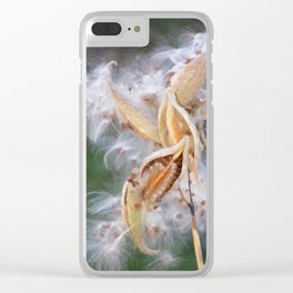 Milkweed Clear iPhone Case