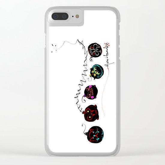 design 9 Clear iPhone Case