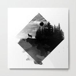 Landscape - Wild Forest Metal Print
