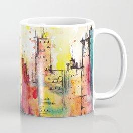 Rainbow Cityscape Coffee Mug
