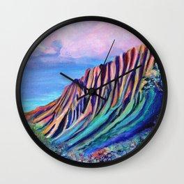 Kalalau Fantasy Wall Clock