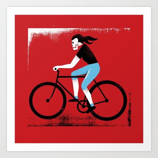 Ride or Die No. 2 Art Print
