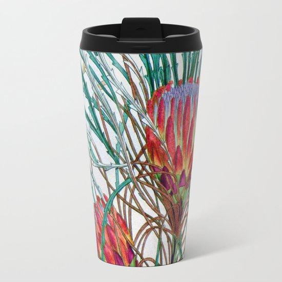 A Protea flower Travel Mug