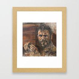 The Funeral Framed Art Print