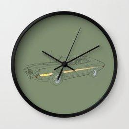 Gran Torino Wall Clock