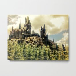 Hogwarts School of Witchcraft and Wizadry  Metal Print