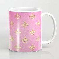 fleur de lis Mugs featuring Fleur de Lis by Mr & Mrs Quirynen