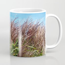 Chinese silver grass blowing in the breeze Coffee Mug