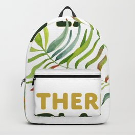 There is no Planet B design Backpack