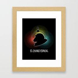 El Chango Espacial (Technicolor) Framed Art Print