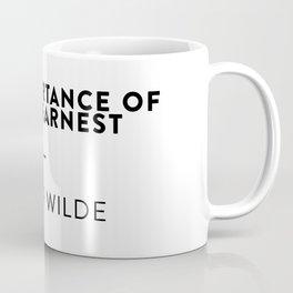 The Importance of Being Earnest  —  Oscar Wilde Coffee Mug