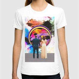 """""""A Shared Unity"""" - Couple/Marriage/Love Collage T-shirt"""