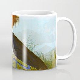 Purple Heron Coffee Mug