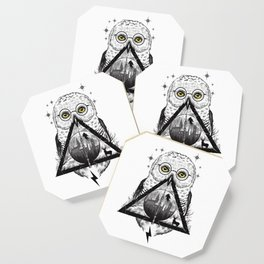 Owls and Wizardry Coaster