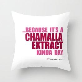 CHAMALLA Throw Pillow