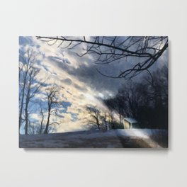 The Crystal at The Clark Metal Print
