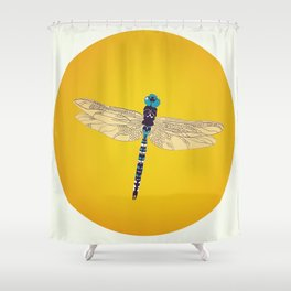 DragOonfly Shower Curtain