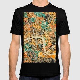 London Mosaic Map #3 T-shirt