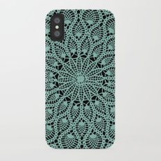 Delicate Teal iPhone X Slim Case