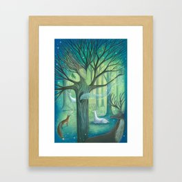 Advice From A Tree Framed Art Print