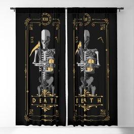 Death XIII Tarot Card Blackout Curtain