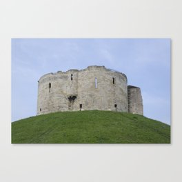 Clifford's tower 2 Canvas Print